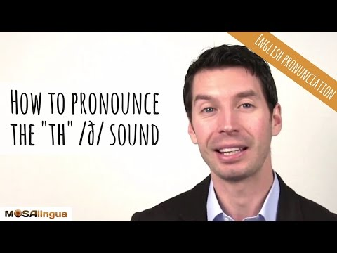 How to pronounce the th /ð/ sound | American English Pronunciation