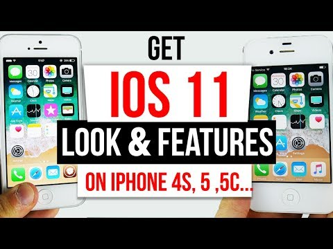 GET IOS 11 Look & Features on IOS 9 - 9.3.4 / 9.3.5 iPhone 4s, 5, 5c, iPad 2, 3, 4 & Mini 32Bit