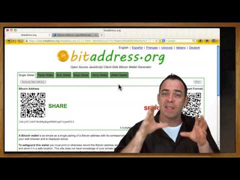 Bitcoin 101 - Intro To Paper Wallets & Cold Storage. Bitcoin Security & Fun With Sloppy Wallets