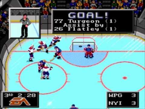 NHL 94- Dallas Stars vs. Toronto Maple Leafs