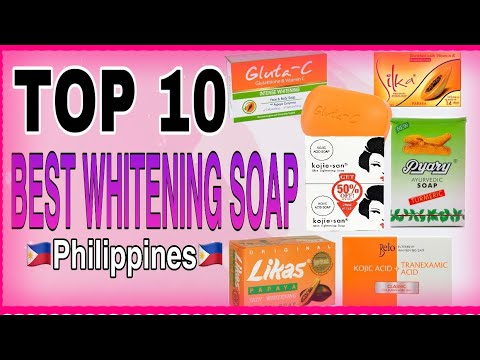 TOP 10 BEST SKIN WHITENING SOAPS 2020|MOST EFFECTIVE & AFFORDABLE LIGHTENING SOAPS | Philippines
