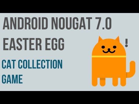 Android Nougat 7.0 Easter Egg | Android N Game