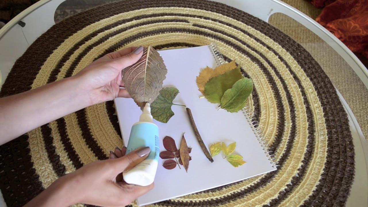 Blätter Pressen blätter pressen und baum aus fingerstempeln basteln kimmy s