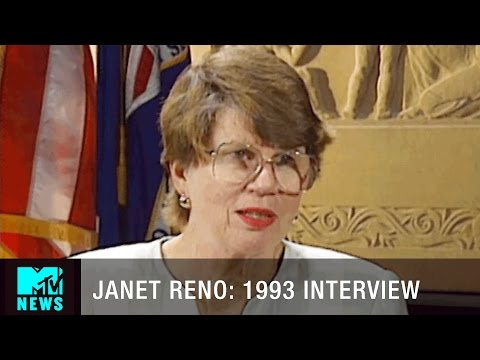 Janet Reno: 1993 Interview | MTV News