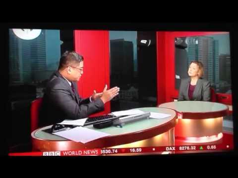 Rachel Lashford, VP Analysis, BBC World news interview, 10 September 2013