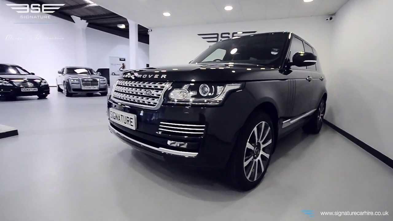 New Range Rover Vogue 4.4 SDV8 - YouTube