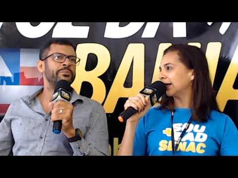 Live Meio-Dia e Meia hoje Fernanda Souza Gerente do SENAC-SAJ; Presidente Bolsonaro ataca Rede Globo