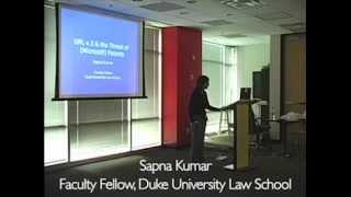 Sapna Kumar talks about GPLv3