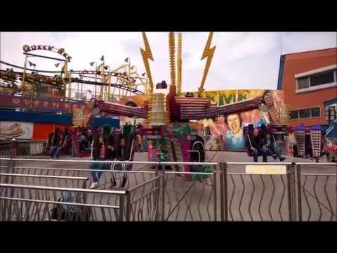 Extreme Speed - Skegness Bottons Pleasure Beach - Off Ride Full Circuit