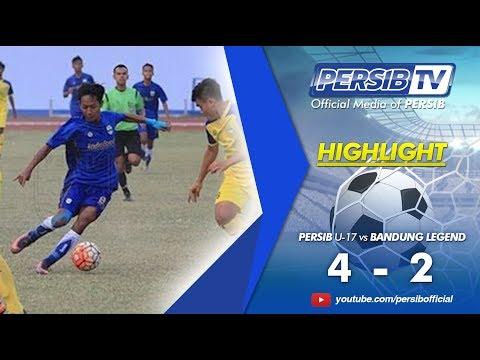 Highlights PERSIB U-17 vs Bandung Legend | Semifinal Piala Soeratin 2017 Jawa Barat