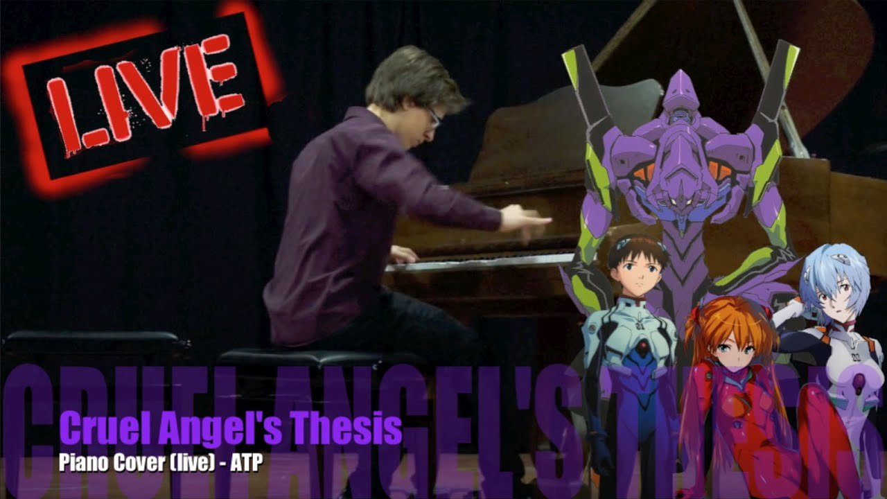 thesis of a cruel angel piano Cruel angel thesis lyrics including mp3 instrumental download evangelion sheet music piano tabs with cruel angel thesis midi.