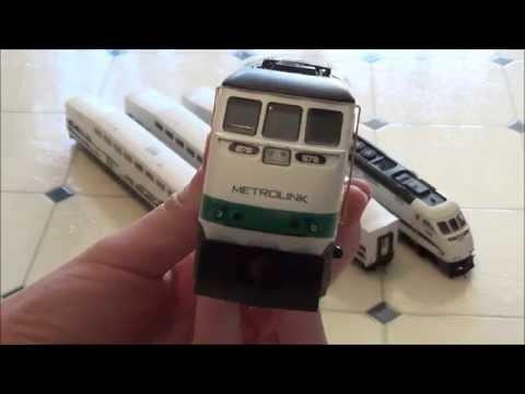 HO scale Metrolink Review