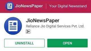 JioNewsPaper   jio newspaper download   How to use jionewspaper
