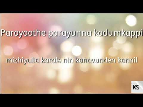 Kadum Kappi Karaoke With Lyrics