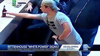 Kyle Rittenhouse Suspected Of Flashing White Supremacy Signs At Bar