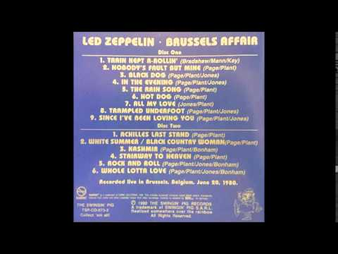 Led Zeppelin Brussels Affair 09 Since I