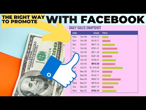 THE RIGHT Way to Promote Affiliate Links Using Facebook