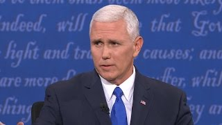 Pence: I like the you're hired, you're fired campaign