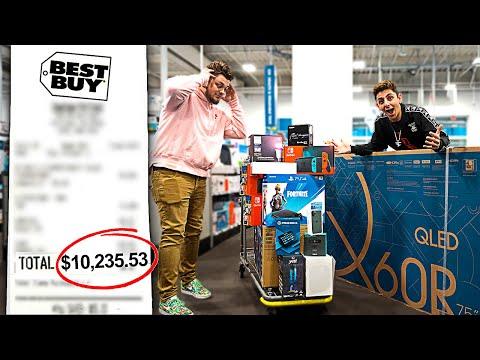 I Took a FAN on a $10,000 SHOPPING SPREE!! **insane**