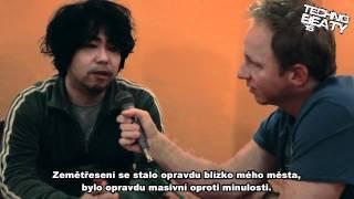 Takaaki Itoh v Pekelnym Baru - Techno Beaty 12.3.2011