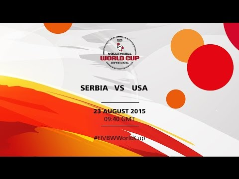 Serbia v USA - FIVB Volleyball Women's World Cup Japan 2015