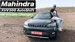 Mahindra XUV300 AutoShift (AMT) - All Visible Changes (Hindi + English)