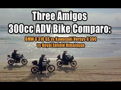 Three Amigos 300cc ADV Bike Comparo: BMW G310GS vs Kawasaki Versys-X 300 vs Royal Enfield Himalayan