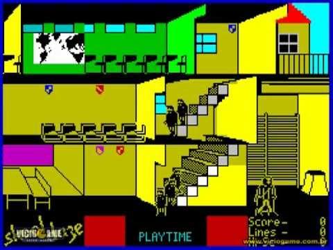 Skool Daze - ZX Spectrum - Gameplay |