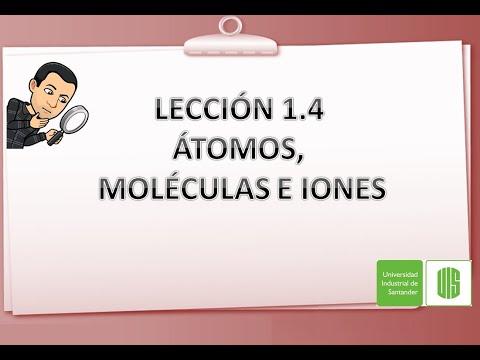 Lección 1.4 Átomos,