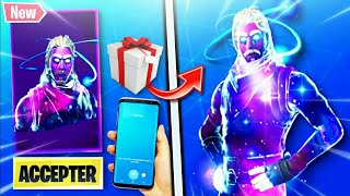 HOW to RECOVER THE SKIN -GALAXY IN ITS CASIER 😱 FORTNITE ANDROID