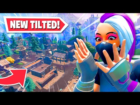 The *NEW* TILTED TOWN... But you CAN'T BUILD!?