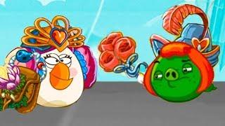 Мультик игра Angry Birds Epic #117 День святого валентина мультяшная игра с Bad Piggies #КРУТИЛКИНЫ