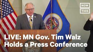 Minnesota Gov. Tim Walz Holds Press Conference | LIVE