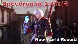 devil may cry 4 special edition speedrun in 01 24 44 new world record devil hunter with nero dante