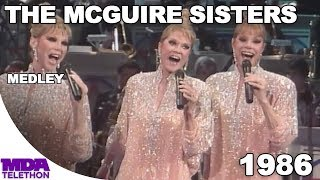 The McGuire Sisters - Medley (1986) - MDA Telethon