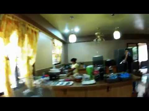 Philippines Expat:  Construction Ron's House and Bonus Halloween Dancing Footage (Bayot Free)
