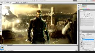 Download Wallpaper  httpfavmed747860 Deus ex Human Revolution Wallpaper This Wallpaper was made in Adobe Photoshop CS5 Total time Over 5