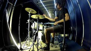 DRUM CAM//Compass - Thrice 'Come All Ye Weary' [ViTV 2018]