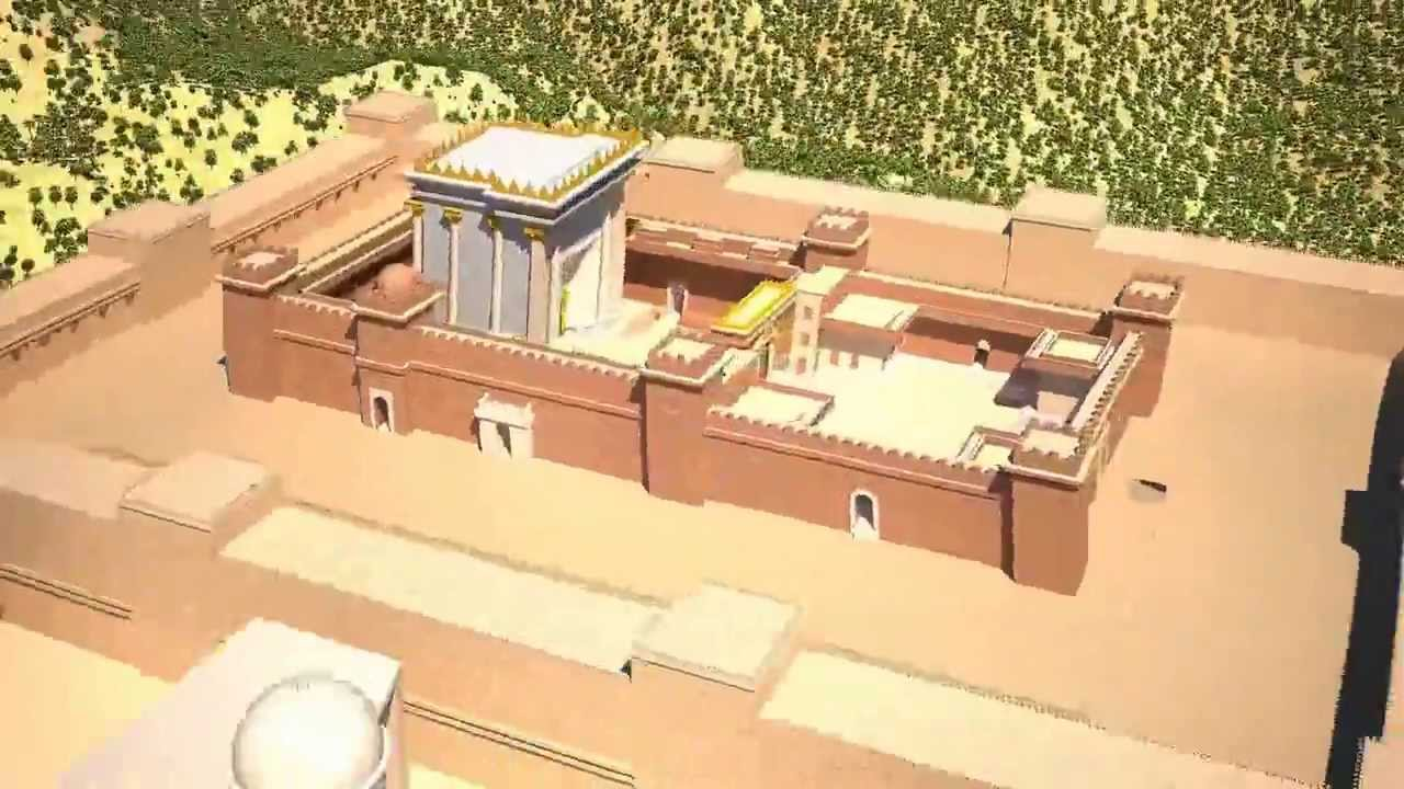 king solomons palace 3d flyaround youtube