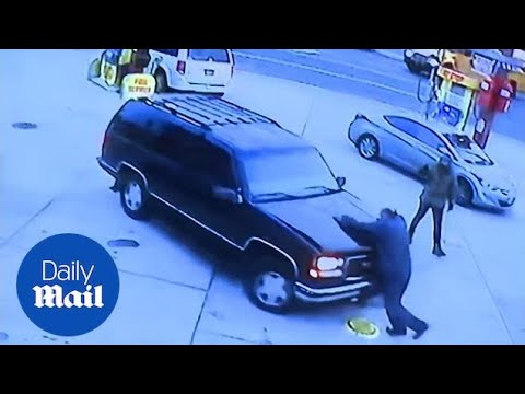 Gas station worker killed by driver stealing gas during hit-and-run