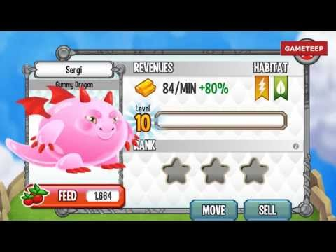 How To Breed Gummy Dragon 100% Real! Dragon City Mobile!