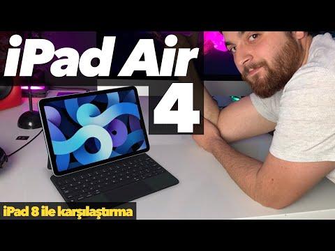 Yeni ! iPad Air 4 ve iPad 8 Detaylı inceleme / Teknik özellikler /