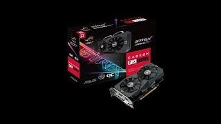 ASUS ROG Strix Radeon RX 560 OC edition 4GB moding bios