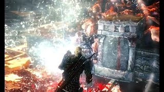 THE WITCHER 2 - How to defeat Letho in 15 seconds (Dark mode)