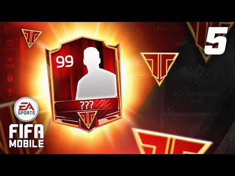 INSANE TEAM HERO PACK! - FIFA Mobile RTG #05