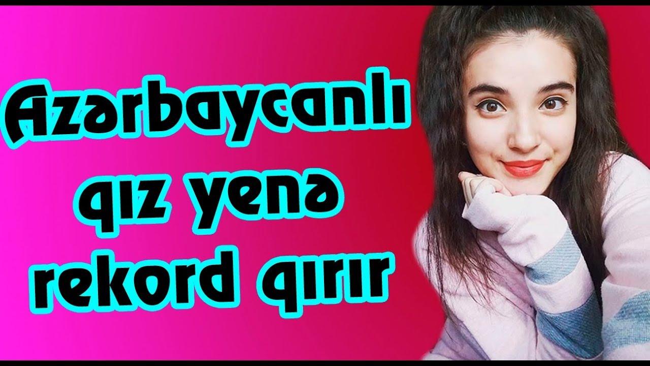 Bu azərbaycanlı qız yenə rekord qırır ( Nahidə Babaşlı)