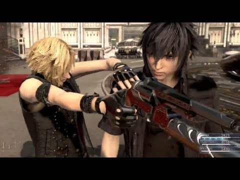 E3 2013: Final Fantasy XV Gameplay E3 Trailer (FF15 ) 【HD】