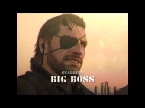 "MGSV as a 1980's TV Show ""The D-Dogs"""