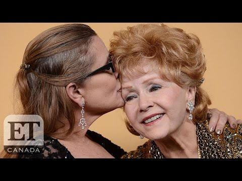Carrie Fisher And Debbie Reynolds' Funeral