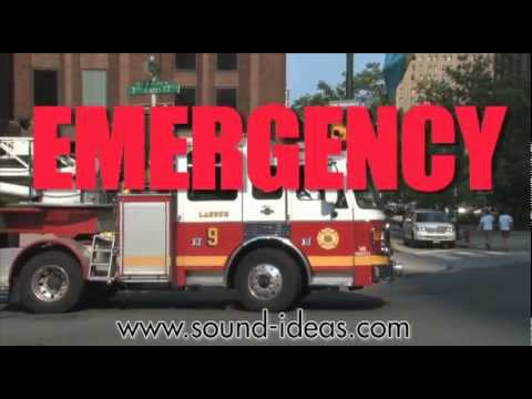 Emergency Sound Effects Library | Sound Ideas | Sound